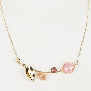 Kate Spade | Floral Facets Bar Pendant Necklace